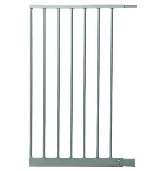 bramki bezpieczeństwa - Rozszerzenie bramki bezpieczeństwa Empire - 42cm (wys. 75cm) - srebrne