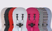 wózki  dziecięce - Uzupełniający zestaw startowy do wózka mima Xari Flair - Stone White